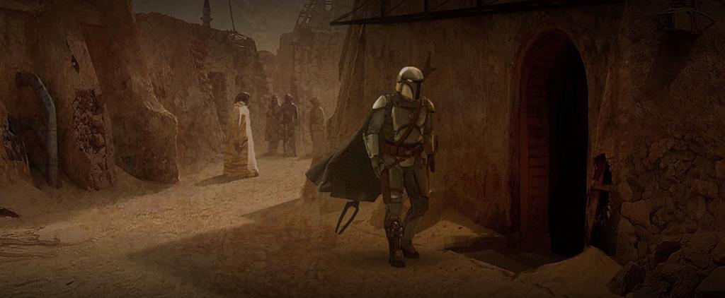 Mandalorian Tatooine Chalmun Cantina