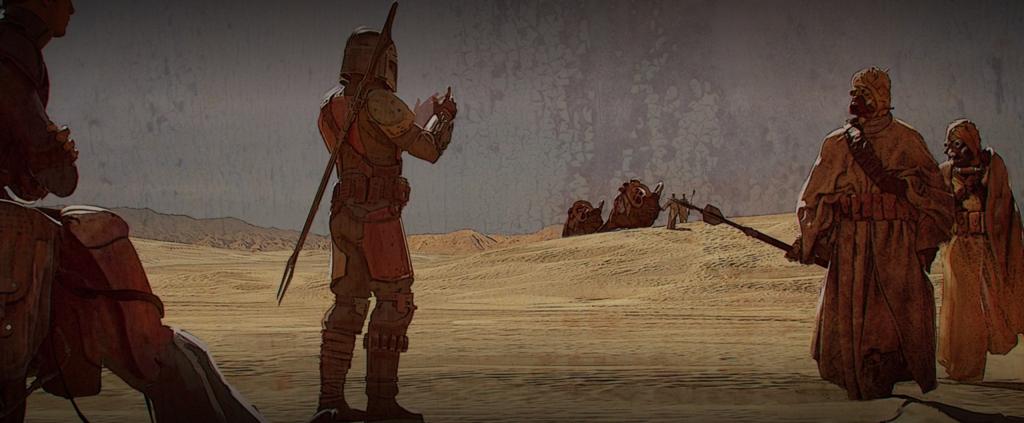 Mandalorian Tusken Raiders
