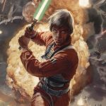 Luke Skywalker and the Shadows of Mindor miniatura