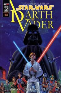 Darth Vader Vader's Quest cover Magic Press