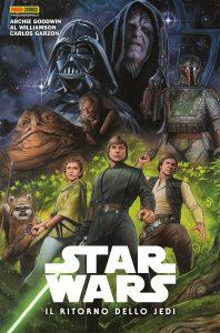 Il Ritorno dello Jedi cover Panini