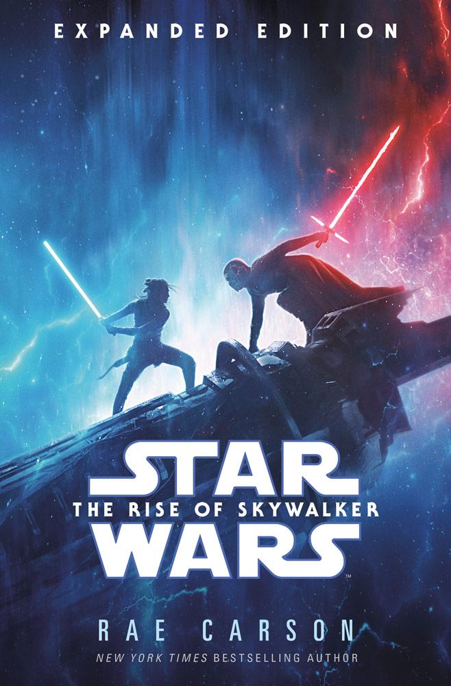 L'Ascesa di Skywalker cover ENG novelization