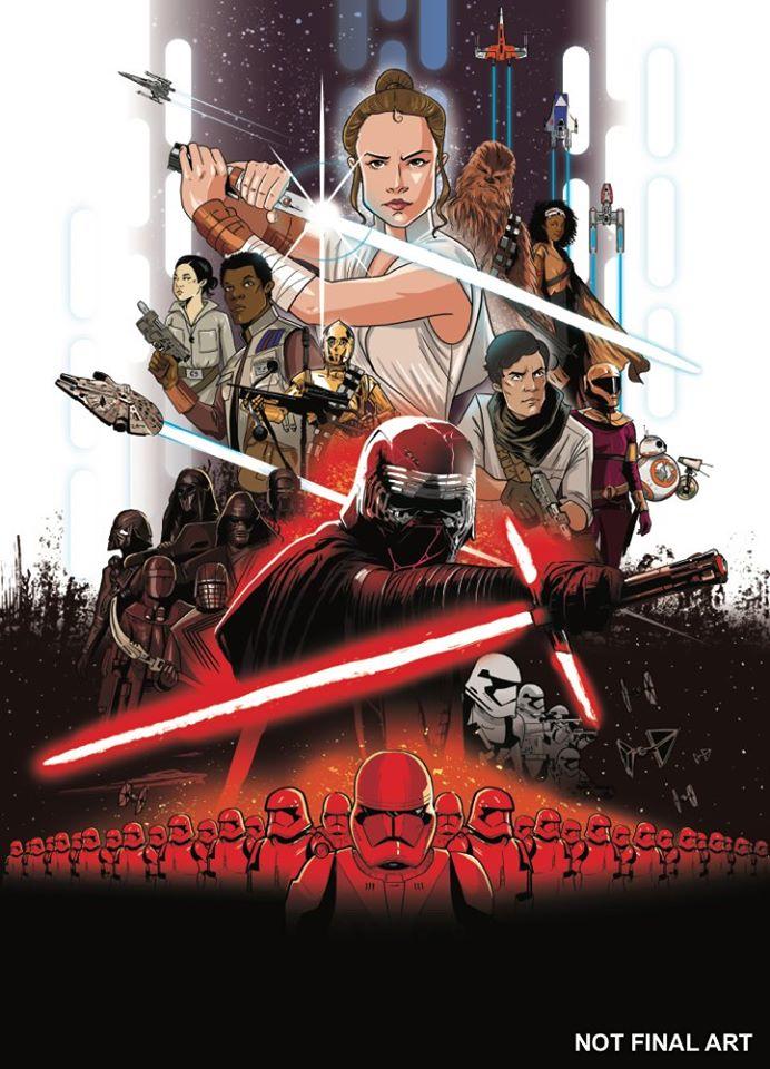 L'Ascesa di Skywalker graphic novel cover