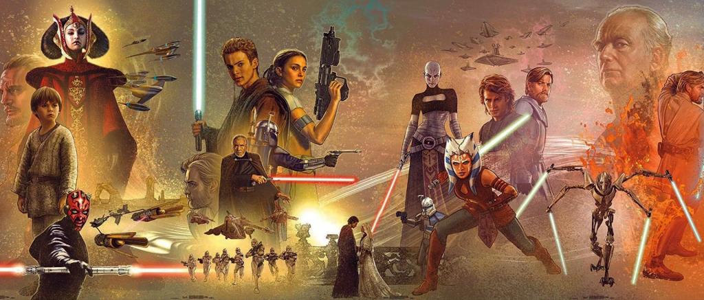 star wars canon crnologia repubblica