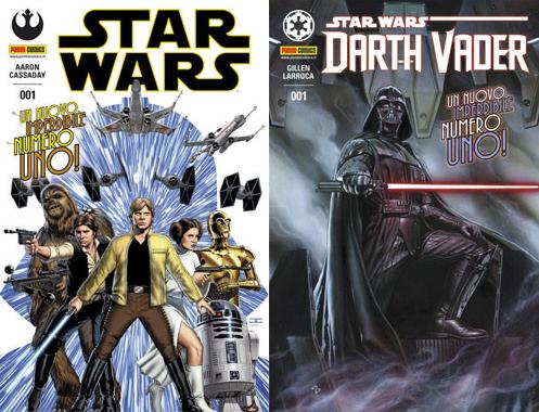 fumetti di star wars spillati canon