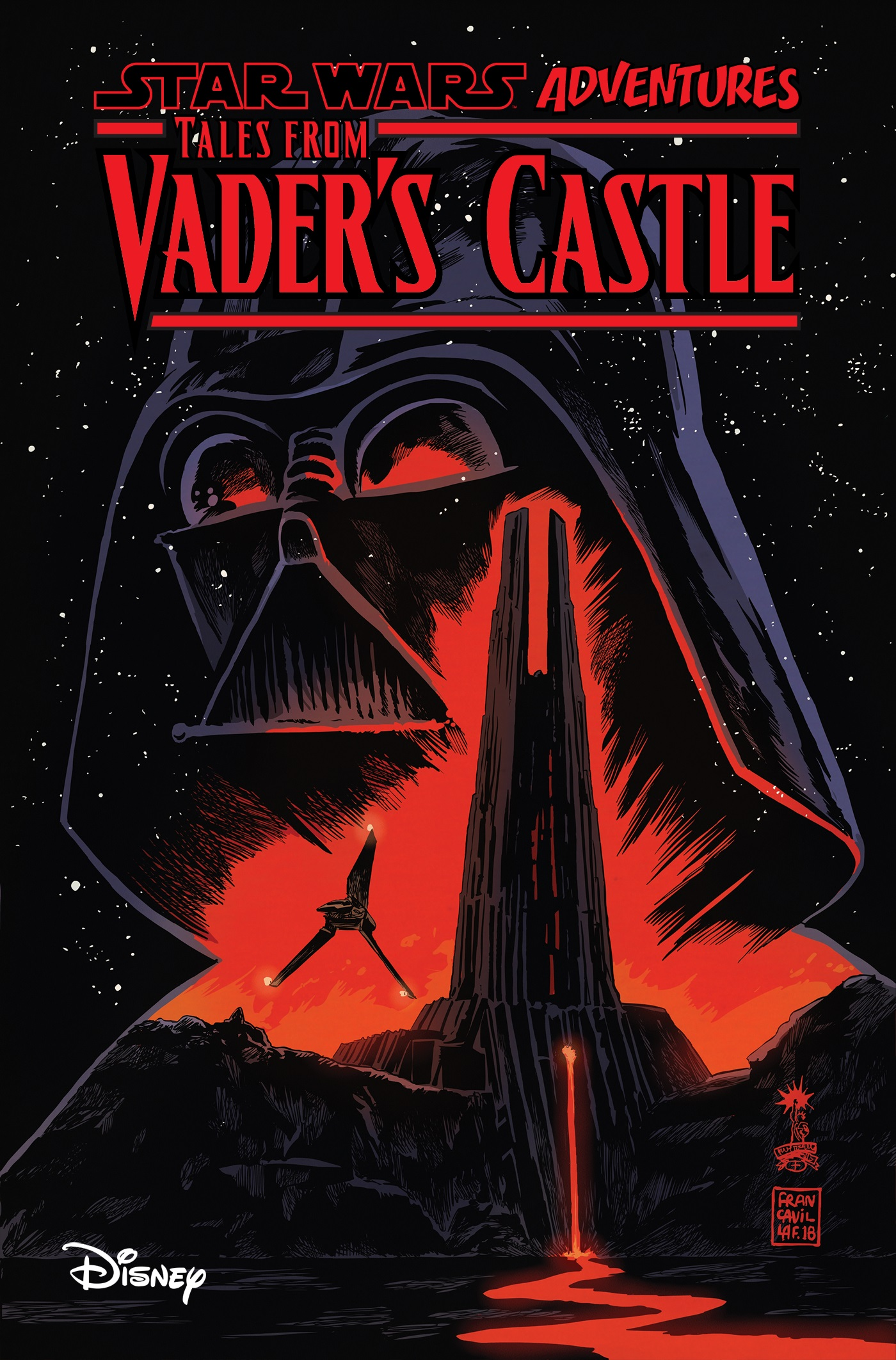 Tales From Vader's Castle TPB cover