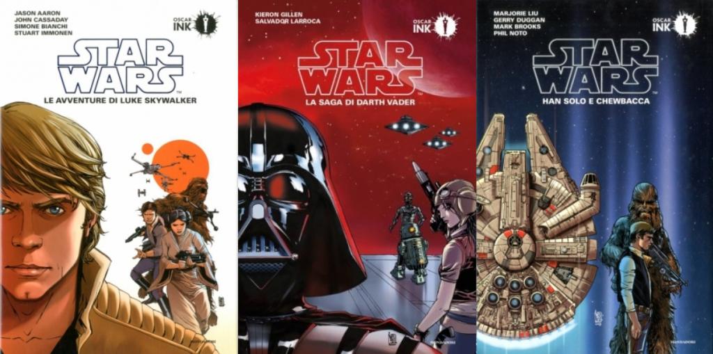 fumetti di star wars mondadori oscar ink