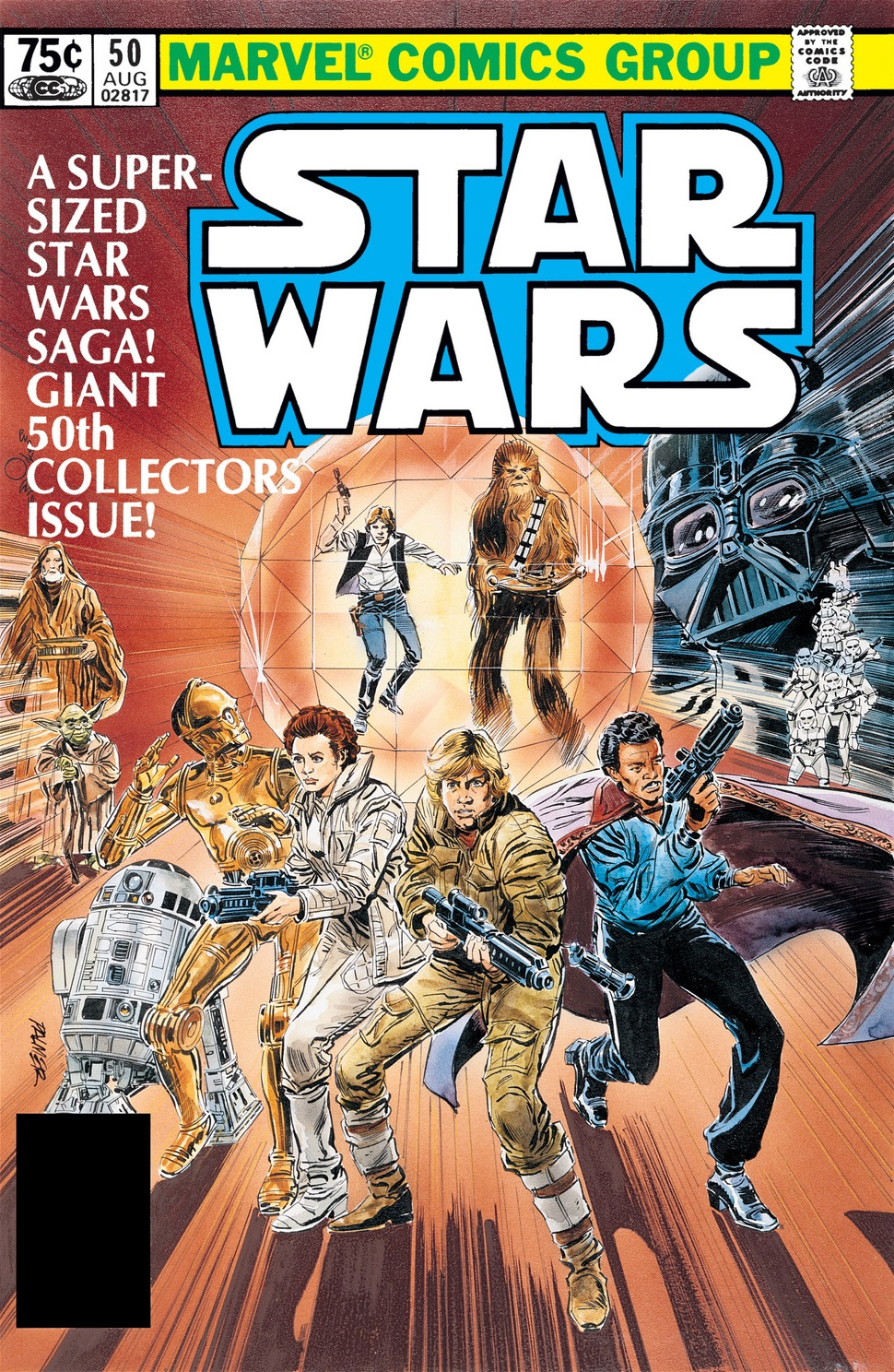 Star Wars (1977) 50 cover L'Eterno Cremisi