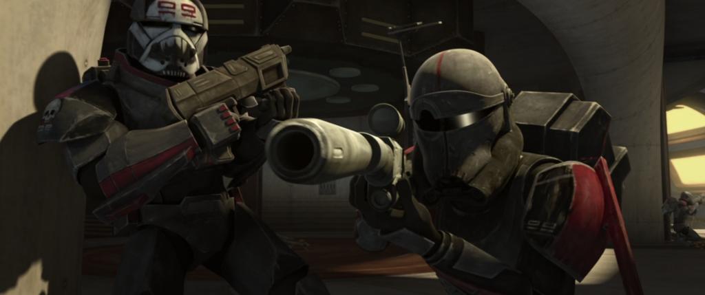 The Clone Wars S7:E3 Wrecker Crosshair