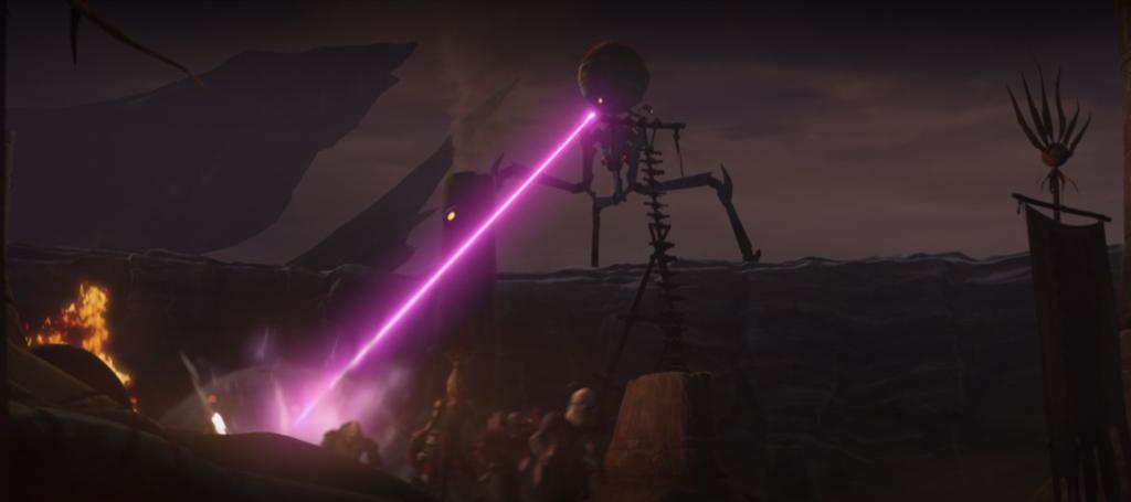 The Clone Wars Octuptarra Tri-Droid