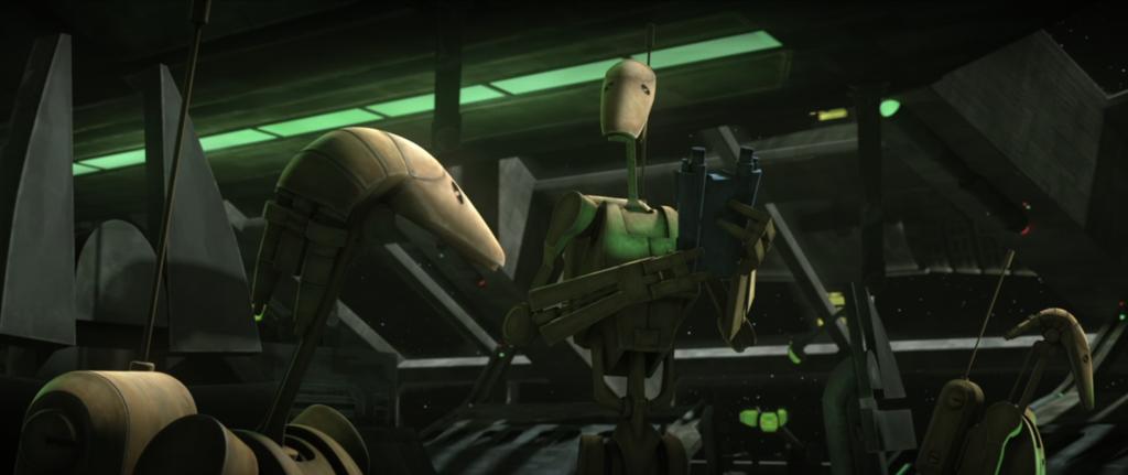 The Clone Wars S7:E4 B1 Battle Droids