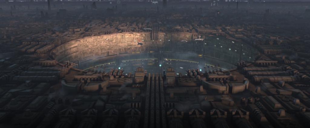 The Clone Wars S7:E5 Coruscant