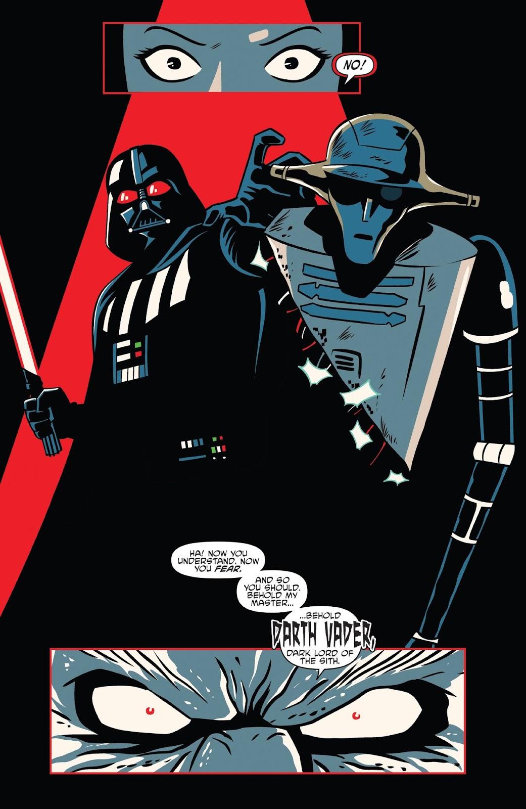 Tales From Vader's Castle Darth Vader