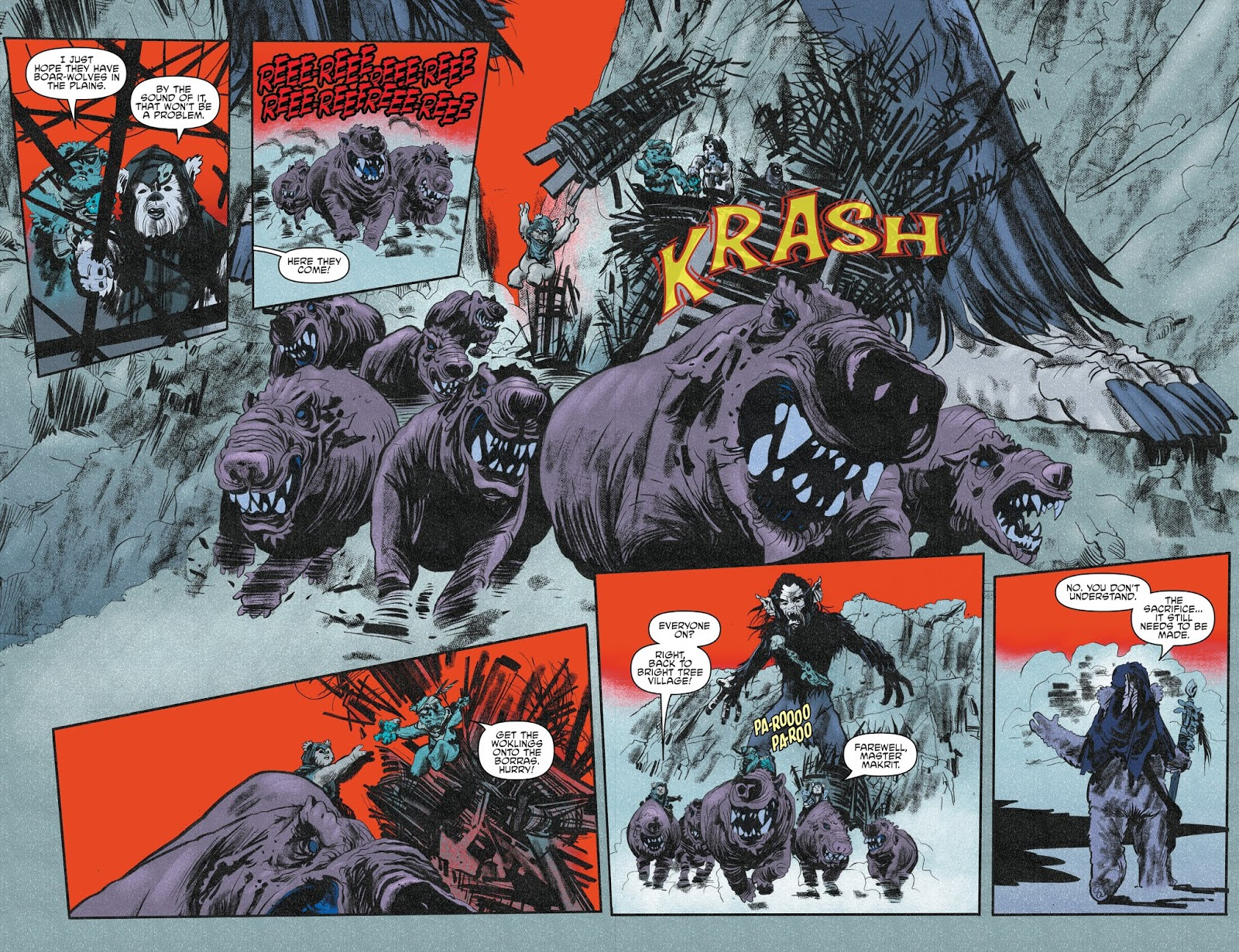 Tales From Vader's Castle Ewok Gorax