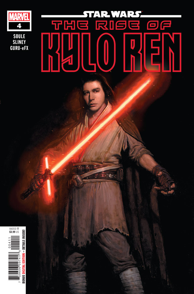 The Rise of Kylo Ren 4 cover