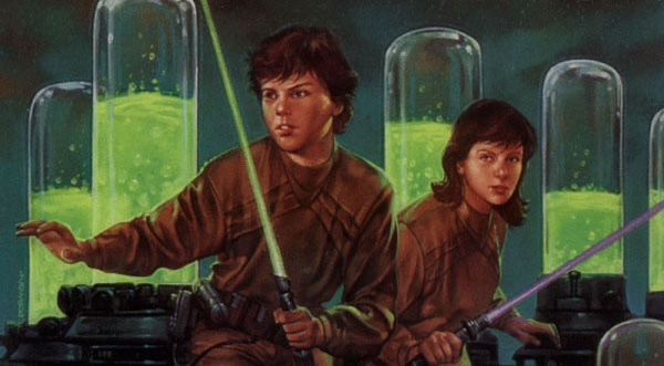 Young Jedi Knights Emperor's Plague evidenza