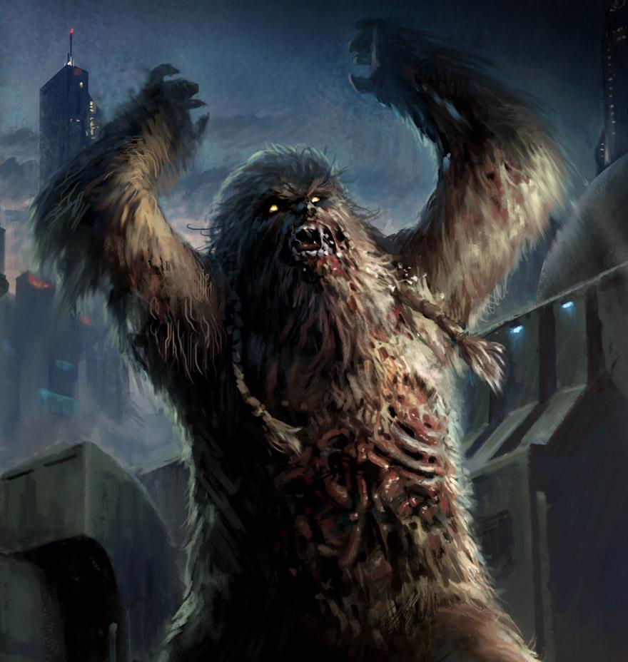 Zombie Wookiee Contagio Mortale