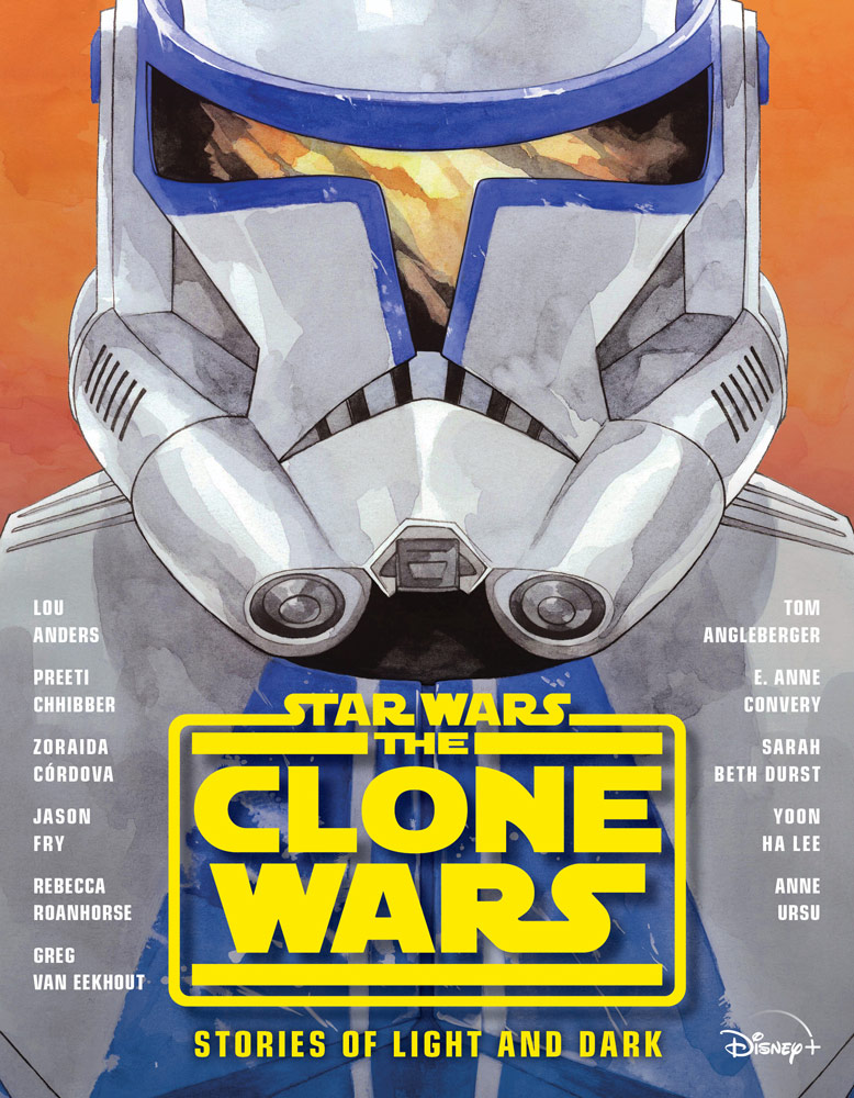 The Clone Wars Stories of Light and Dark cover