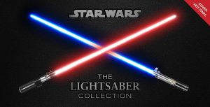 the lighsaber collection cover
