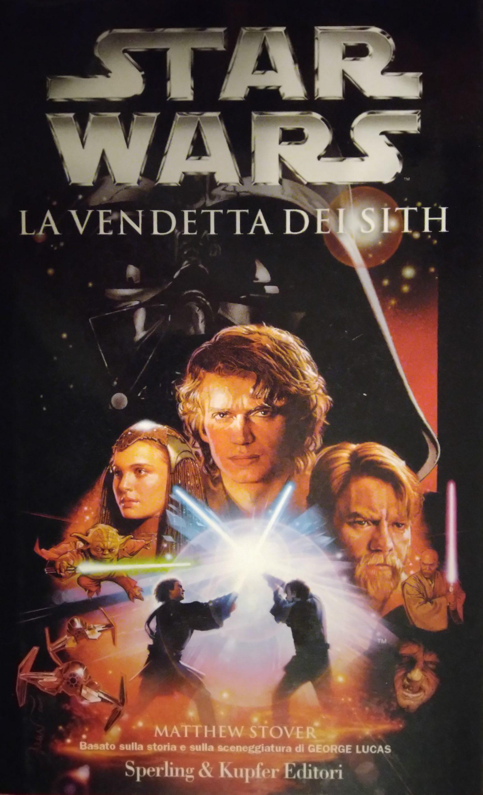 La Vendetta dei Sith Sperling cover