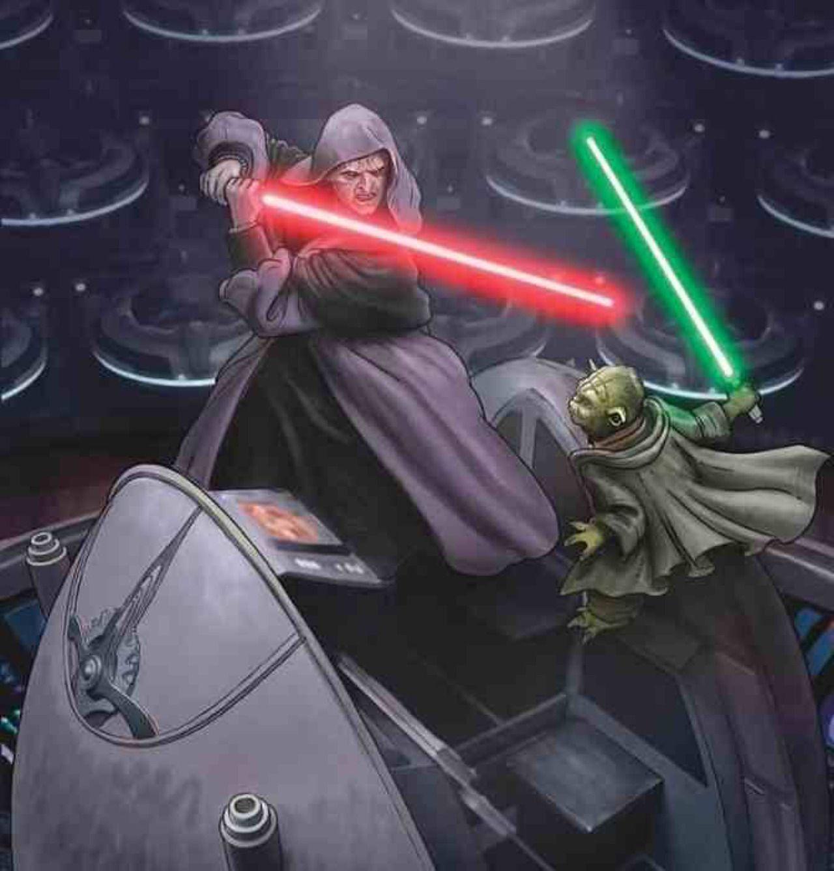 Yoda Sidious La Vendetta dei Sith The Essential Reader's Companion