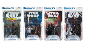 hasbro star wars comic packs