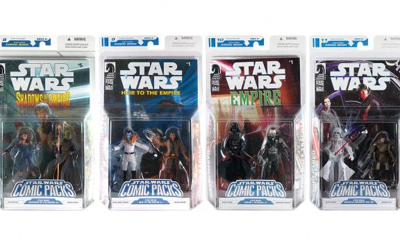 hasbro star wars comic packs