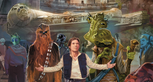 galaxy's edge panini comics