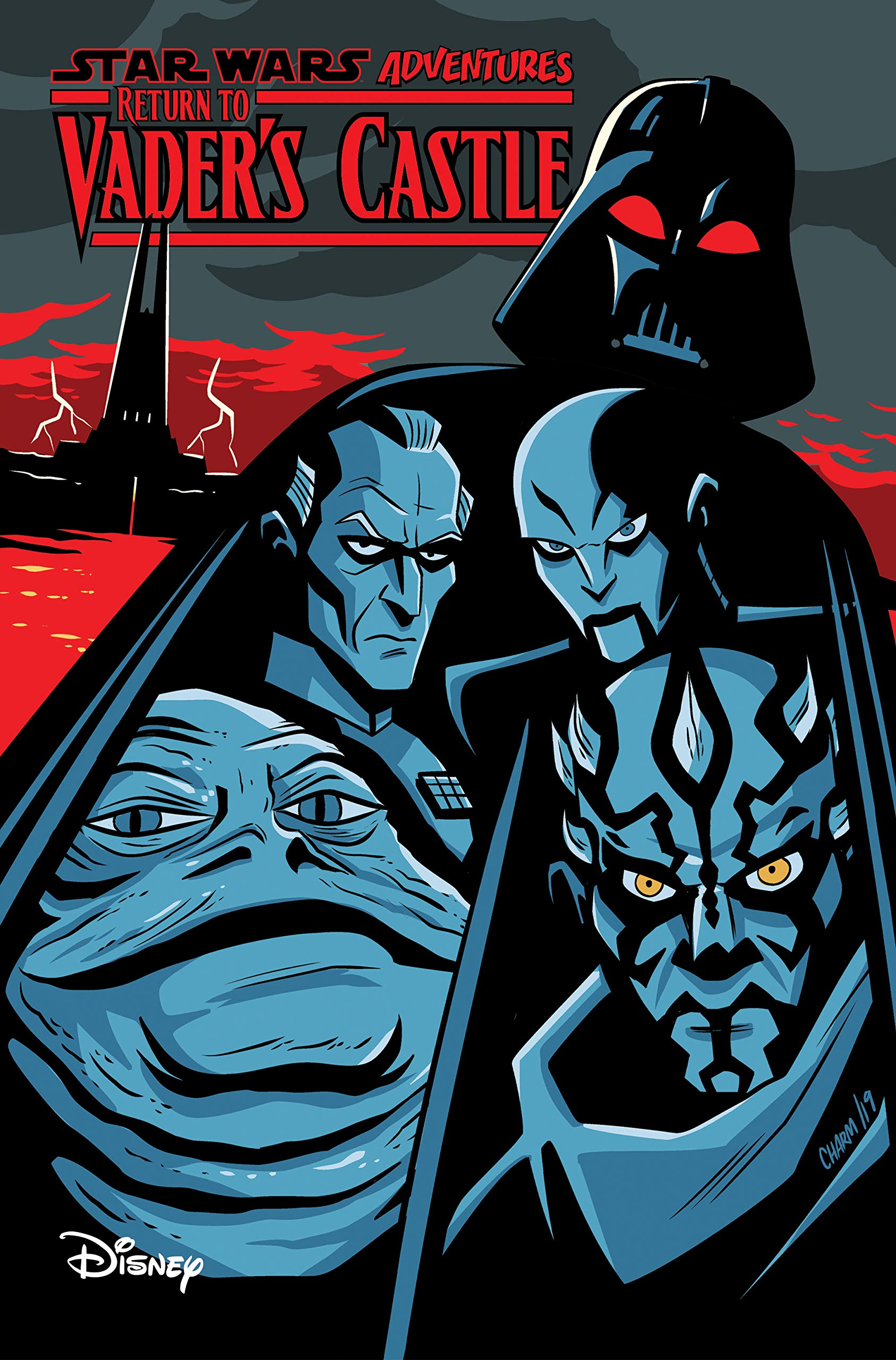 Adventures Return to Vader's Castle cover