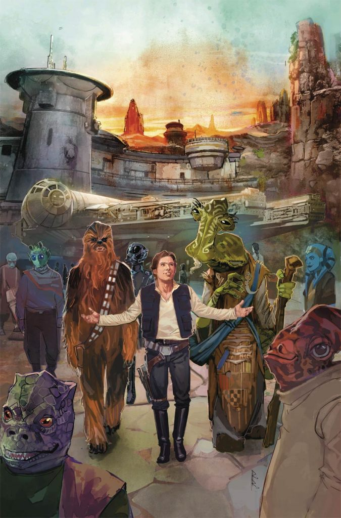 Galaxy's Edge Textless Cover