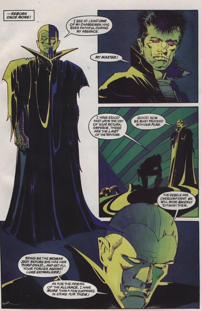 Palpatine Darth Sidious La Vendetta dell'Imperatore