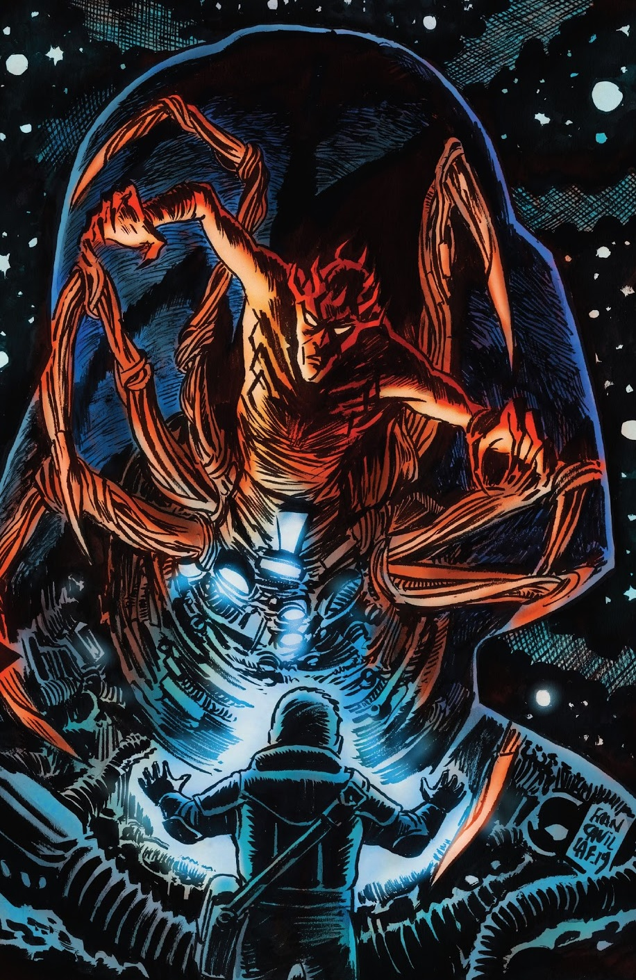Darth Maul Return to Vader's Castle 1 cover
