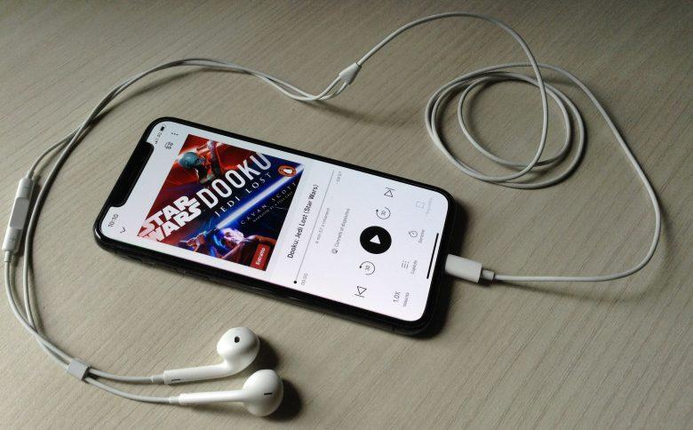 audiolibri di star wars dooku evidenza