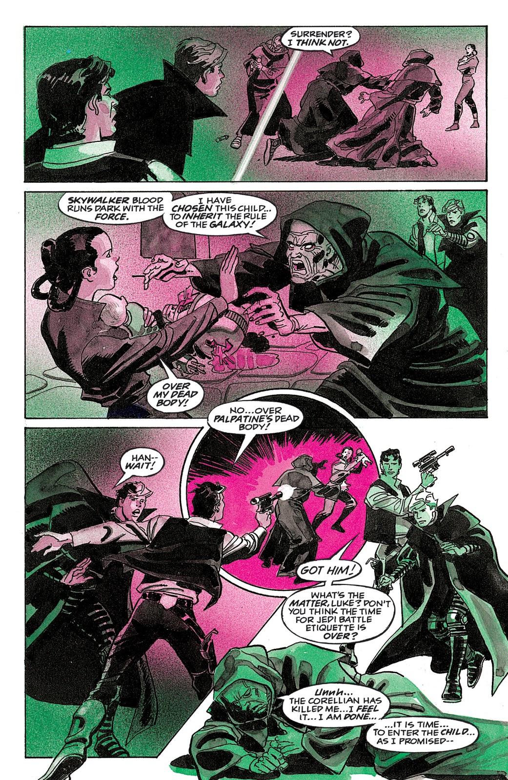 Imperatore Anakin Solo Dark Empire La Vendetta dell'Imperatore