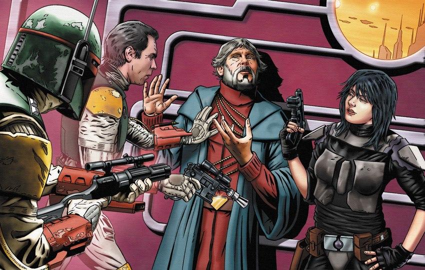 Legacy of the Force Sal-Solo Boba Fett Mirta Gev Han