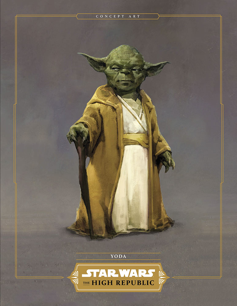 The High Republic Yoda Jedi Temple Attire