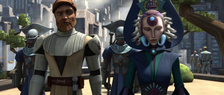 Satine Obi-Wan