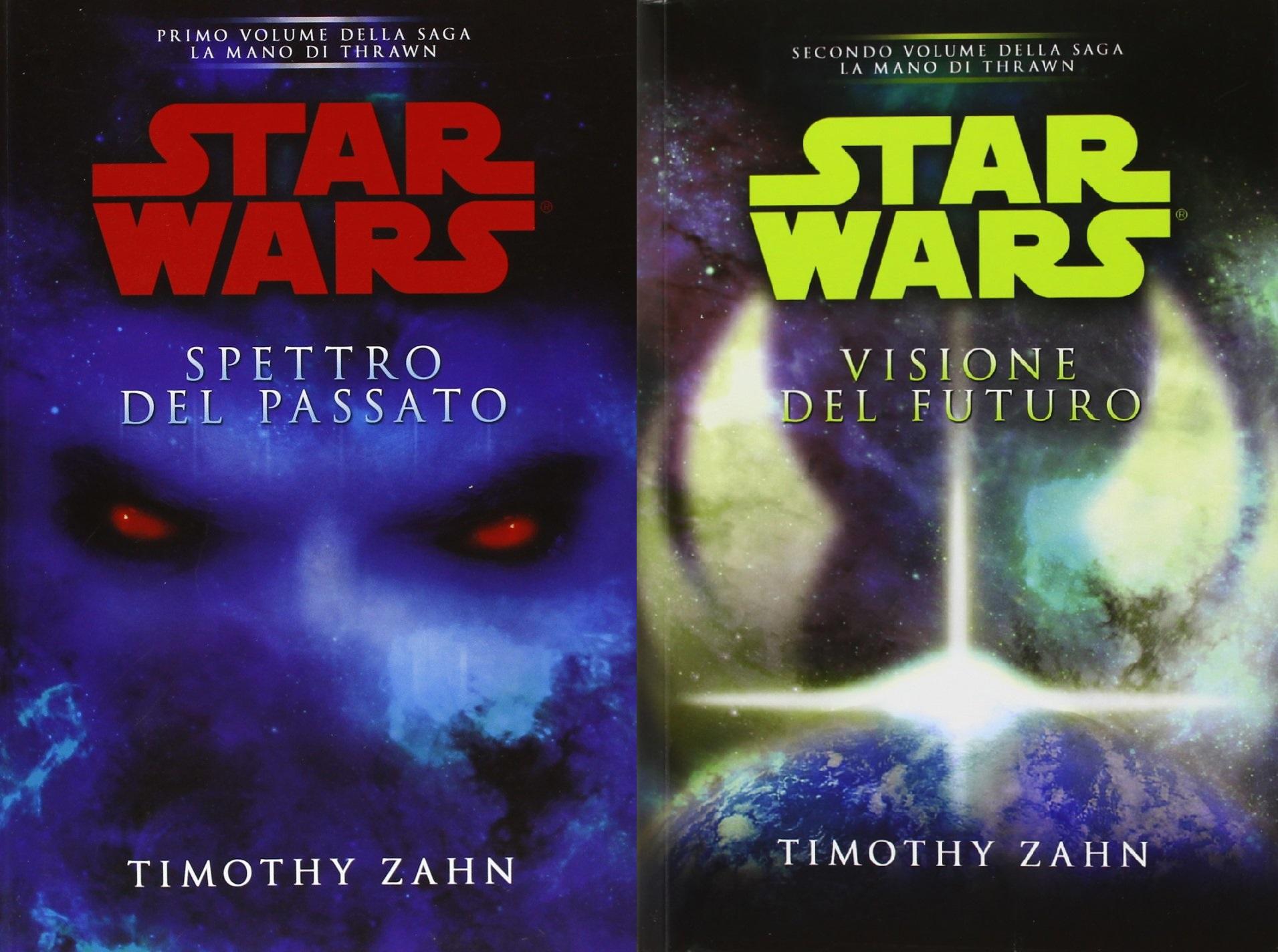 Duologia Mano di Thrawn cover Spettro del Passato Visione del Futuro