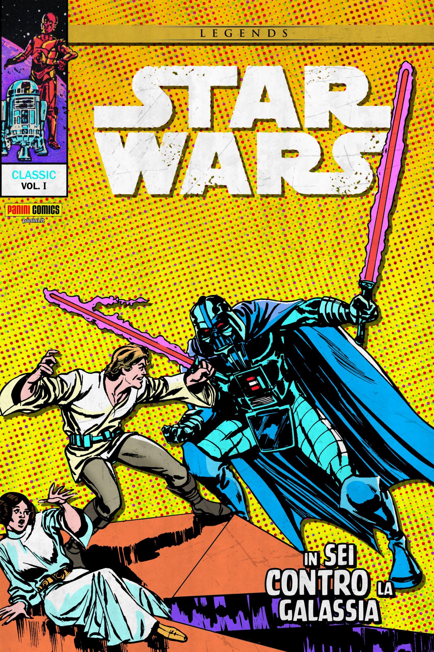 Star Wars Classic 1 In Sei Contro la Galassia Cover