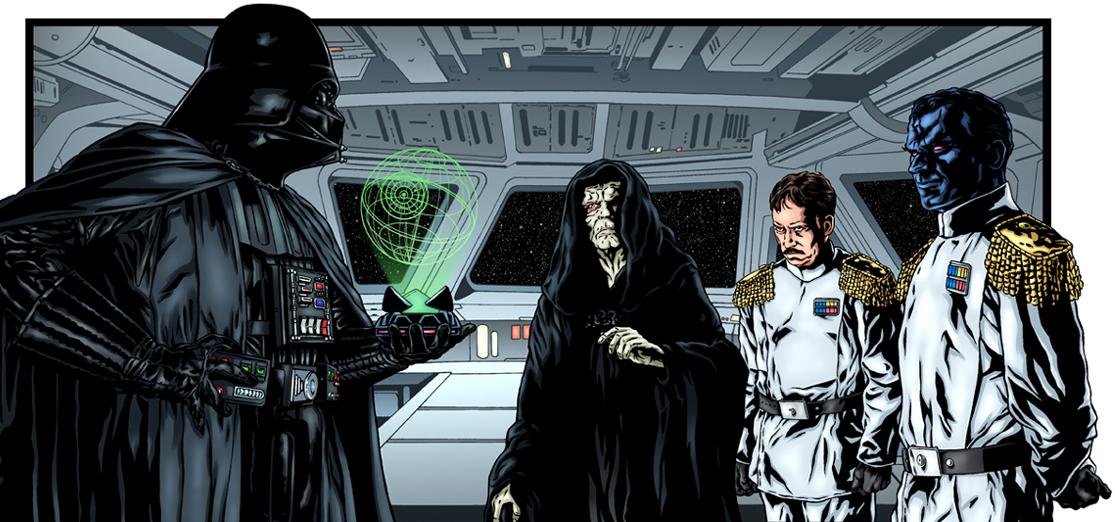 Thrawn Vader Palpatine Insider 66