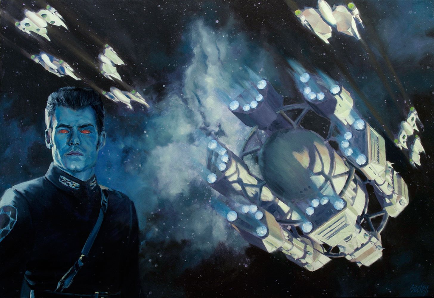 Thrawn cover Outbound Flight Dave Seeley