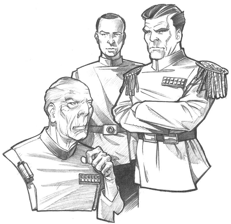 Sinistro Triumvirato Thrawn Spettro del Passato Visione del Futuro