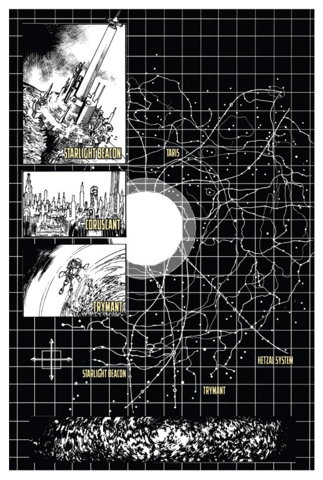 The High Republic mappa galattica