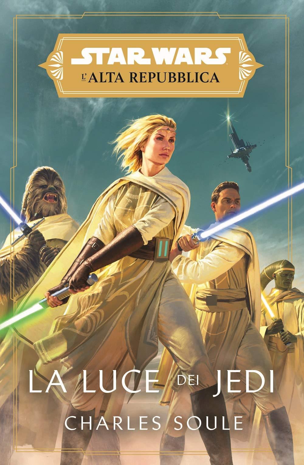 La Luce dei Jedi cover Panini