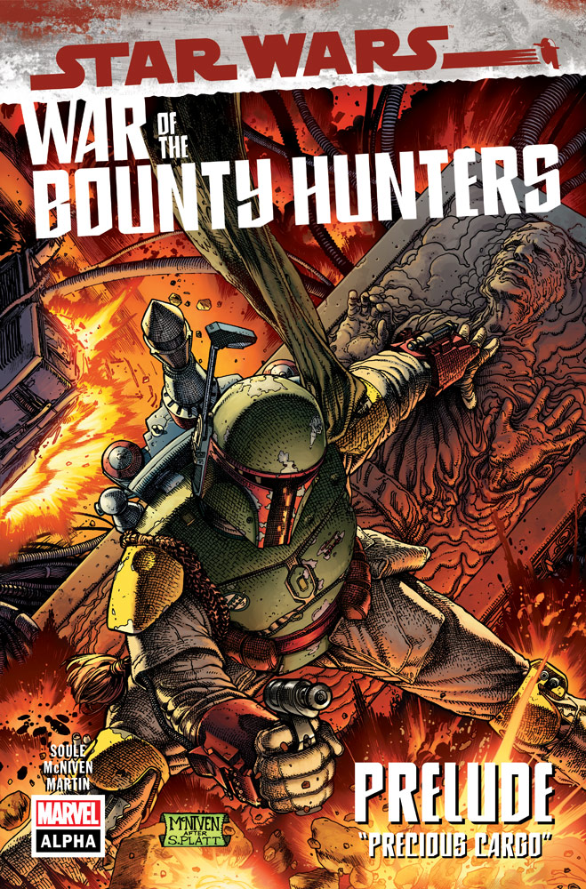 War of the Bounty Hunters #1 cover