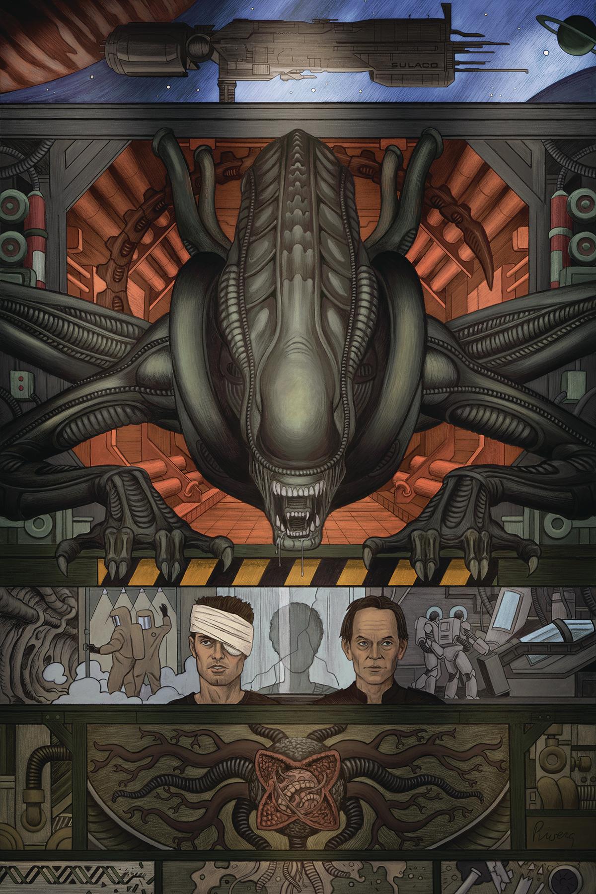 Alien 3 La Sceneggiatura Originale 1 Variant Cover