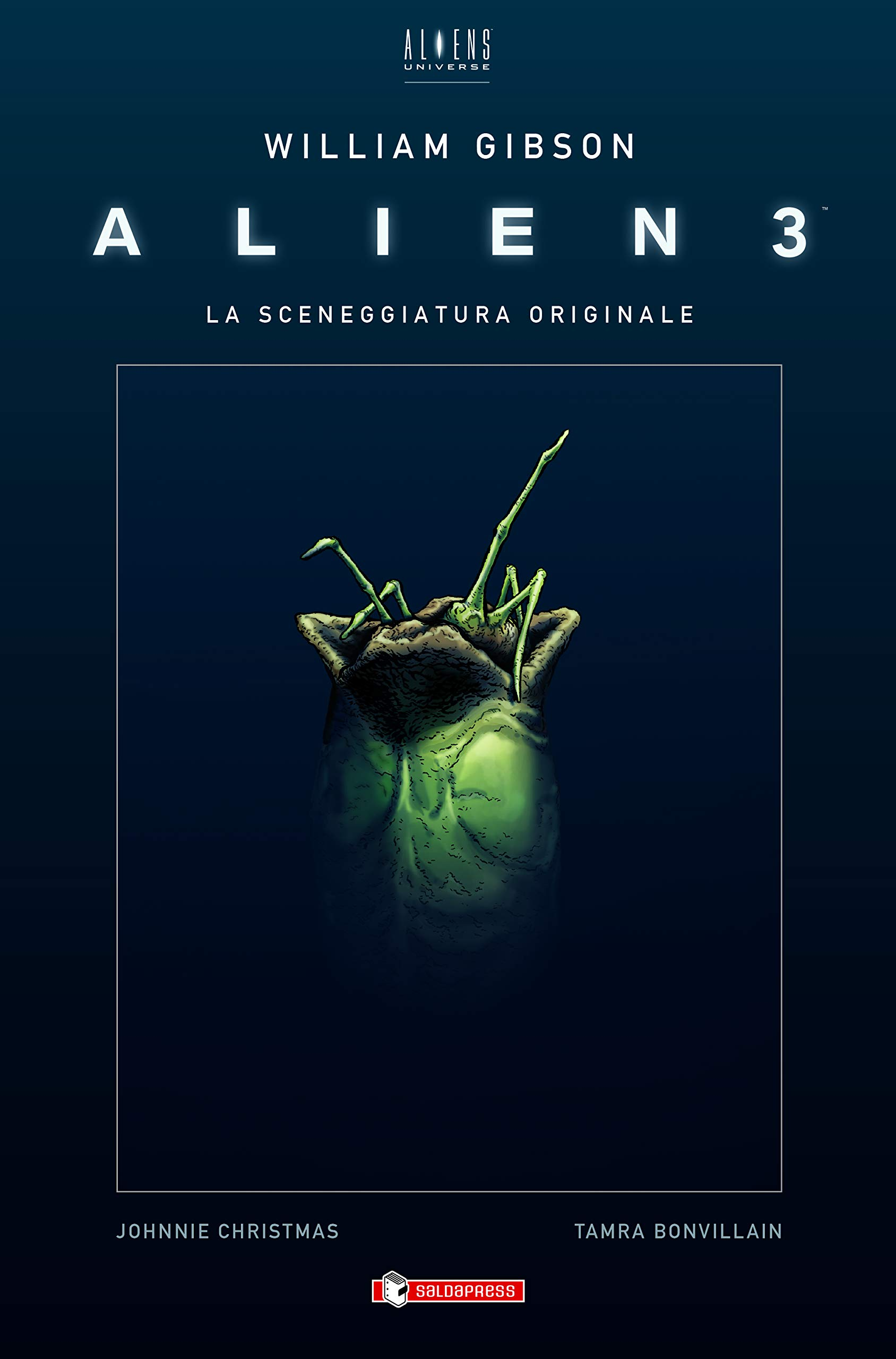 Alien 3 Sceneggiatura Originale Gibson cover