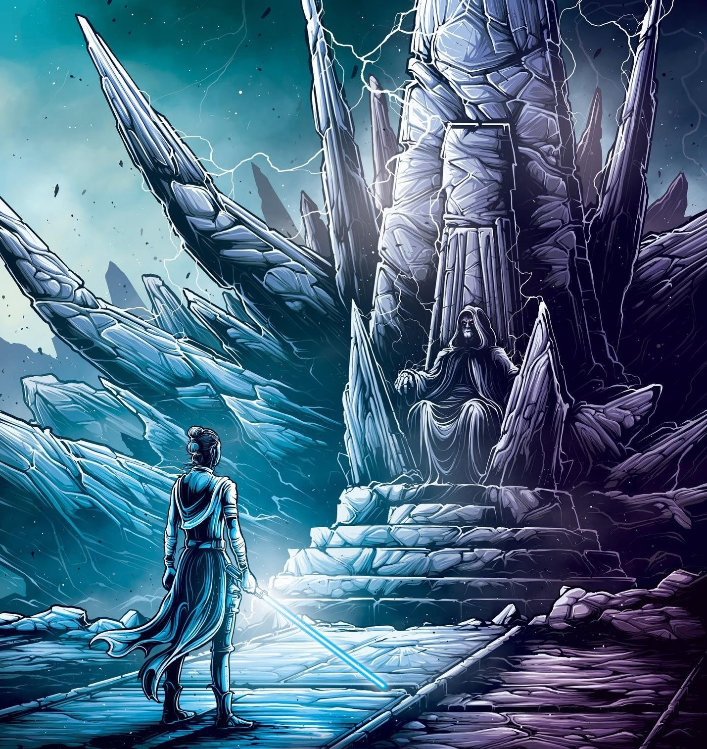 L'Ascesa di Skywalker Poster Imax Palpatine Rey