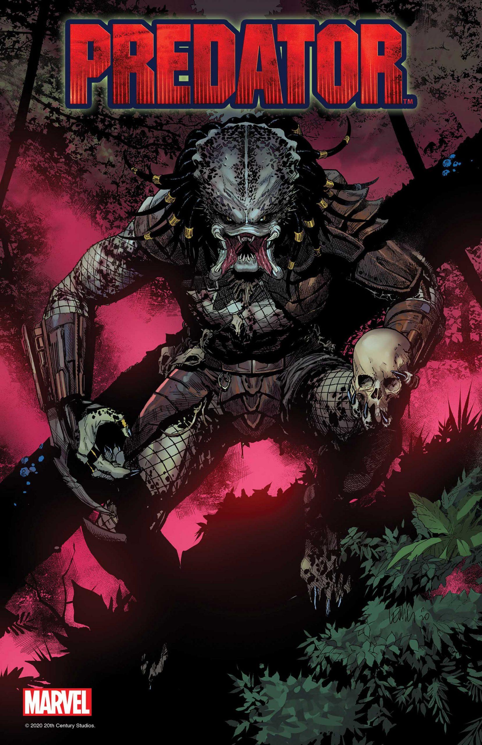 Predator 1 Marvel cover