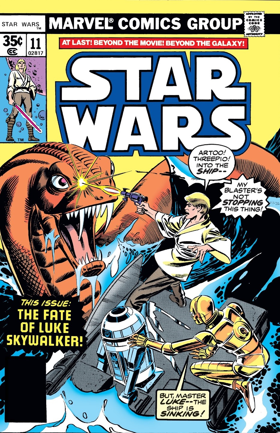 Star Wars 11 1977 cover